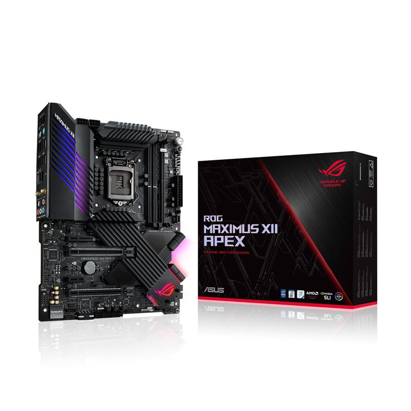 ASUS ROG MAXIMUS XII APEX Intel 第10世代Coreプロセッサー対応 Z490チップセット搭載 ATXマザーボード