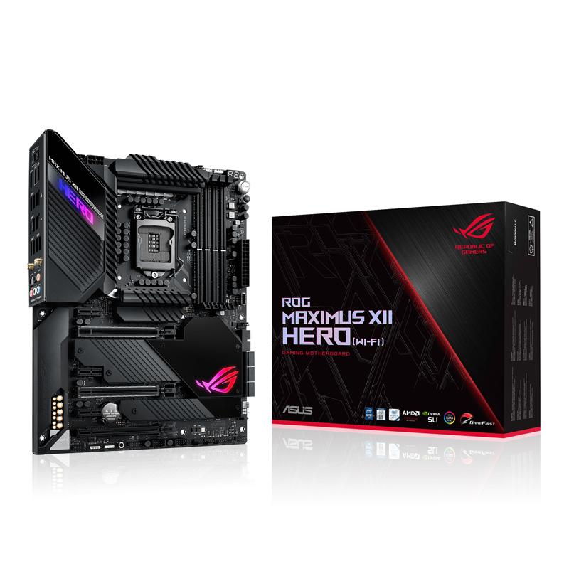 ASUS ROG MAXIMUS XII HERO (Wi-Fi) Intel 第10世代Coreプロセッサー対応 Z490チップセット搭載 ATXマザーボード