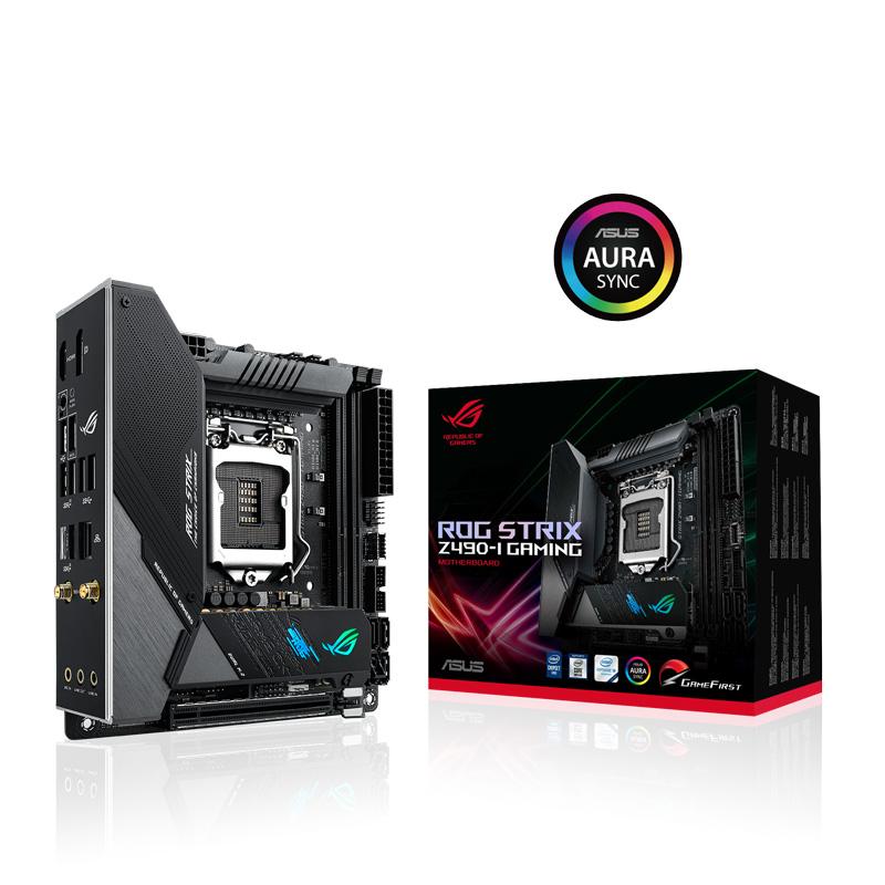 新製品 ASUS ROG STRIX Z490-I GAMING Intel 第10世代Coreプロセッサー対応 Z490チップセット搭載 mini-ITXマザーボード