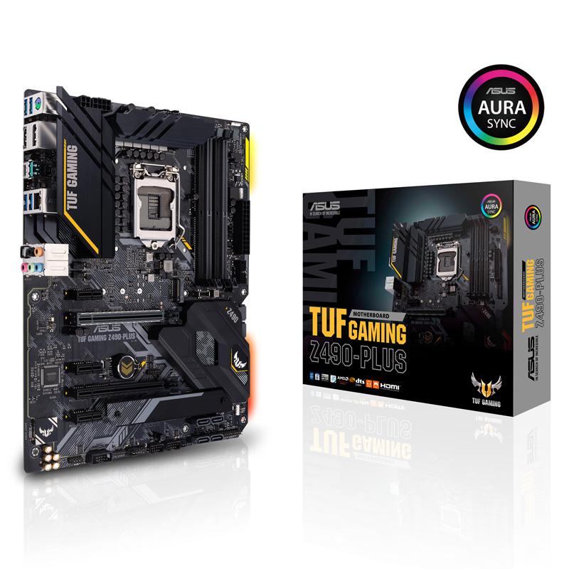 ASUS TUF GAMING Z490-PLUS Intel 第10世代Coreプロセッサー対応 Z490チップセット搭載 ATXマザーボード