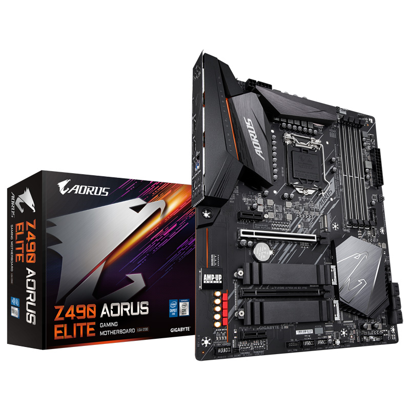 GIGABYTE Z490 AORUS ELITE Intel 第10世代Coreプロセッサー対応 Z490チップセット搭載 ATXマザーボード
