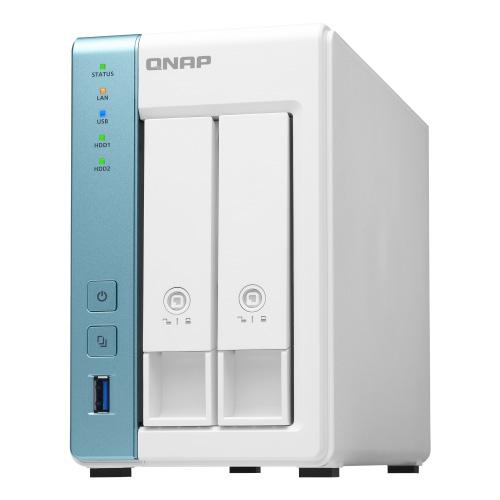 QNAP TS-231K 2ベイNAS 信頼性の高いホームandパーソナルクラウドストレージ/クアッドコア 1.7 GHz プロセッサを搭載