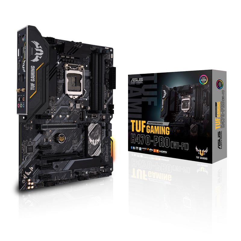 ASUS TUF GAMING H470-PRO (WI-FI) Intel 第10世代Coreプロセッサー対応 H470チップセット搭載 ATXマザーボード