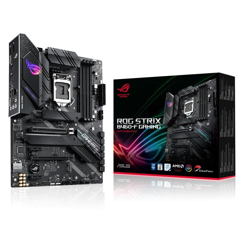新製品 ASUS ROG STRIX B460-F GAMING Intel 第10世代Coreプロセッサー対応 B460チップセット搭載 ATXマザーボード