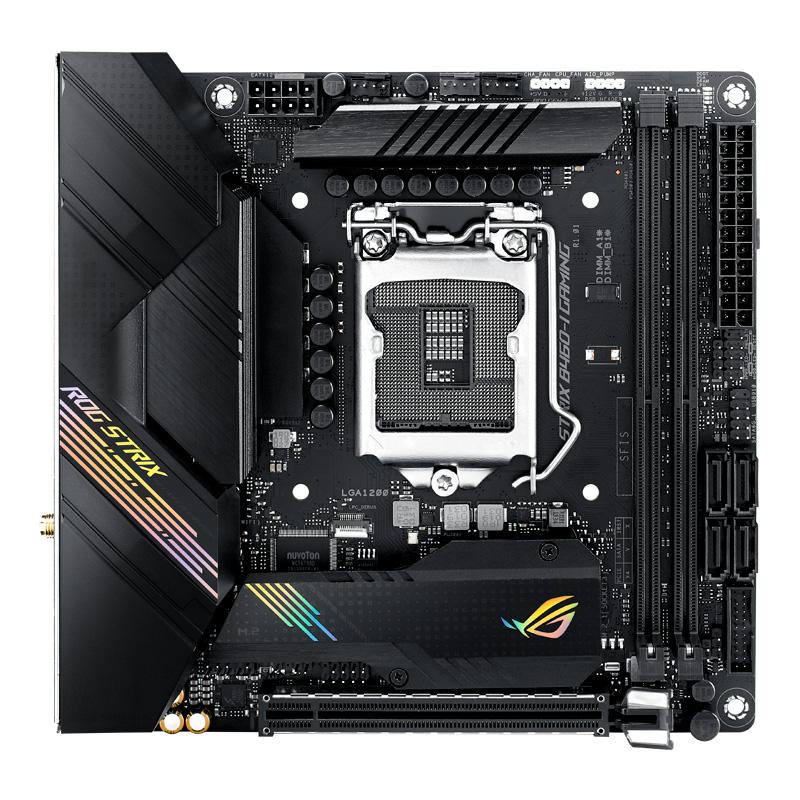 新製品 ASUS ROG STRIX B460-I GAMING Intel 第10世代Coreプロセッサー対応 B460チップセット搭載 Mini-ITXマザーボード