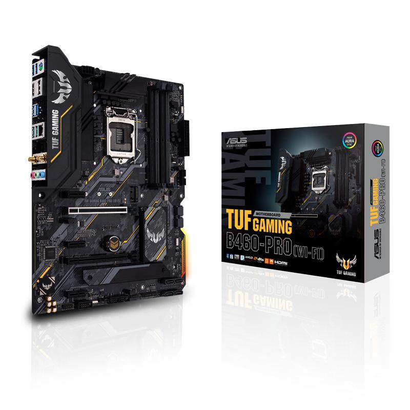 新製品 ASUS TUF GAMING B460-PRO (WI-FI) Intel 第10世代Coreプロセッサー対応 B460チップセット搭載 ATXマザーボード