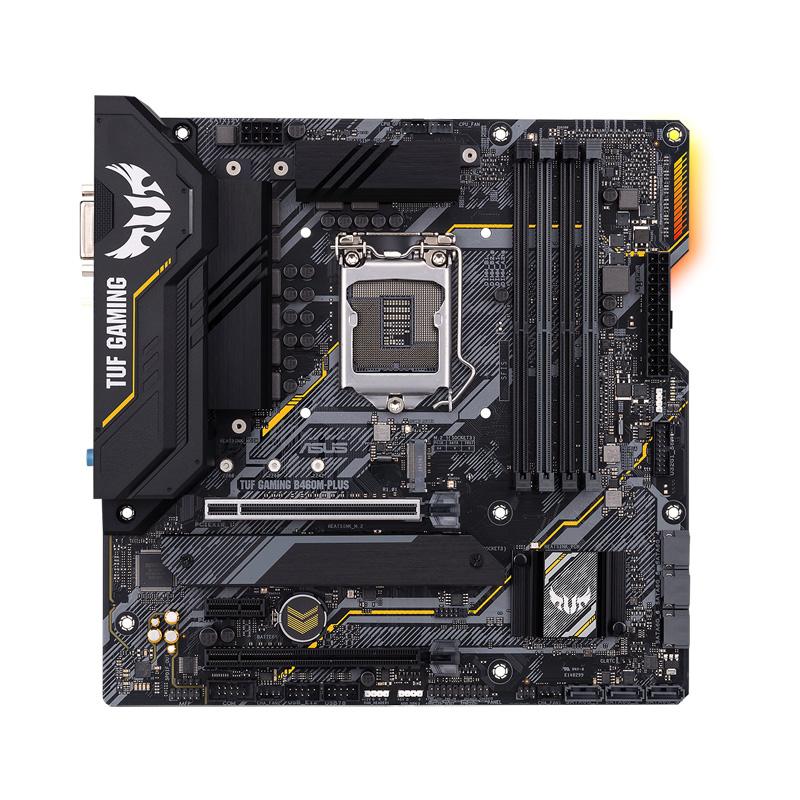 ASUS TUF GAMING B460M-PLUS Intel 第10世代Coreプロセッサー対応 B460チップセット搭載 MicroATXマザーボード