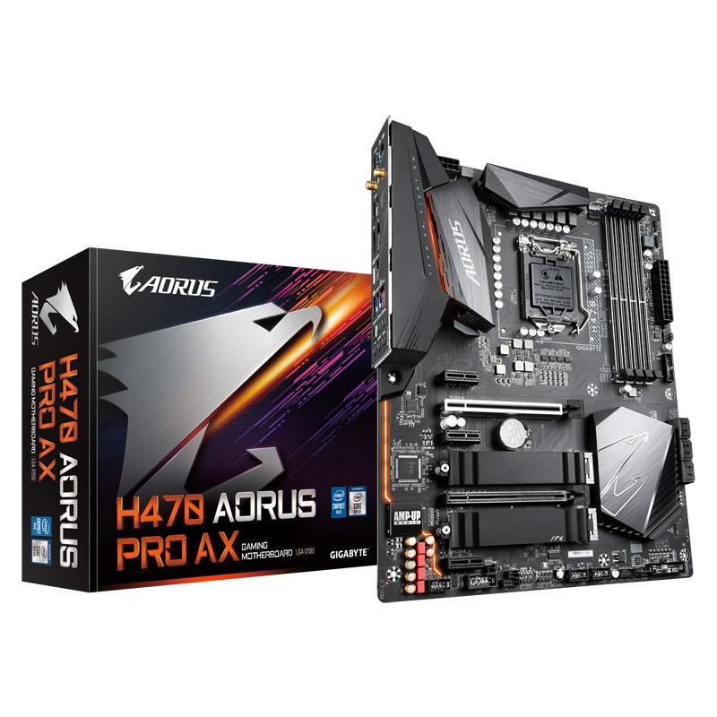 新製品 GIGABYTE H470 AORUS PRO AX Intel 第10世代Coreプロセッサー対応 H470チップセット搭載 ATXマザーボード