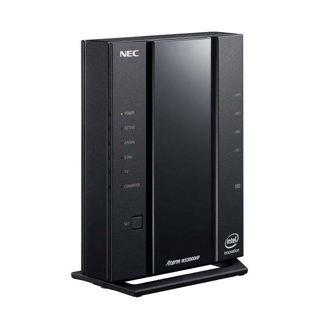 新製品 NEC Aterm WX3000HP PA-WX3000HP Wi-Fi 6(11ax)対応 Wi-Fi 無線ルーター