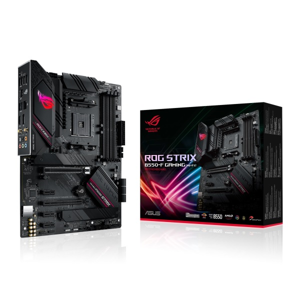 ASUS ROG STRIX B550-F GAMING(WI-FI) AMD B550チップセット搭載 ATXマザーボード