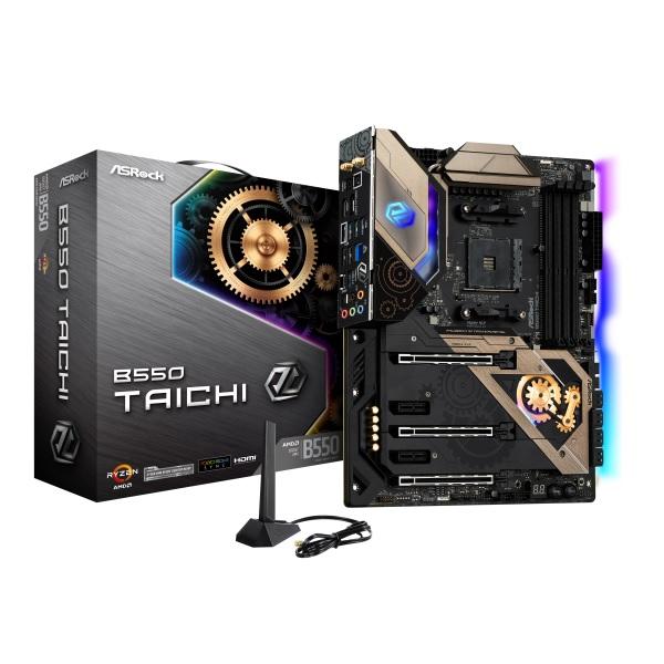新製品 ASRock B550 Taichi AMD B550チップセット搭載 ATXマザーボード
