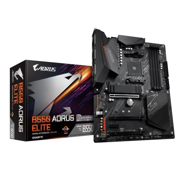 GIGABYTE B550 AORUS ELITE AMD B550チップセット搭載 ATXマザーボード