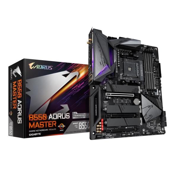 GIGABYTE B550 AORUS MASTER AMD B550チップセット搭載 ATXマザーボード