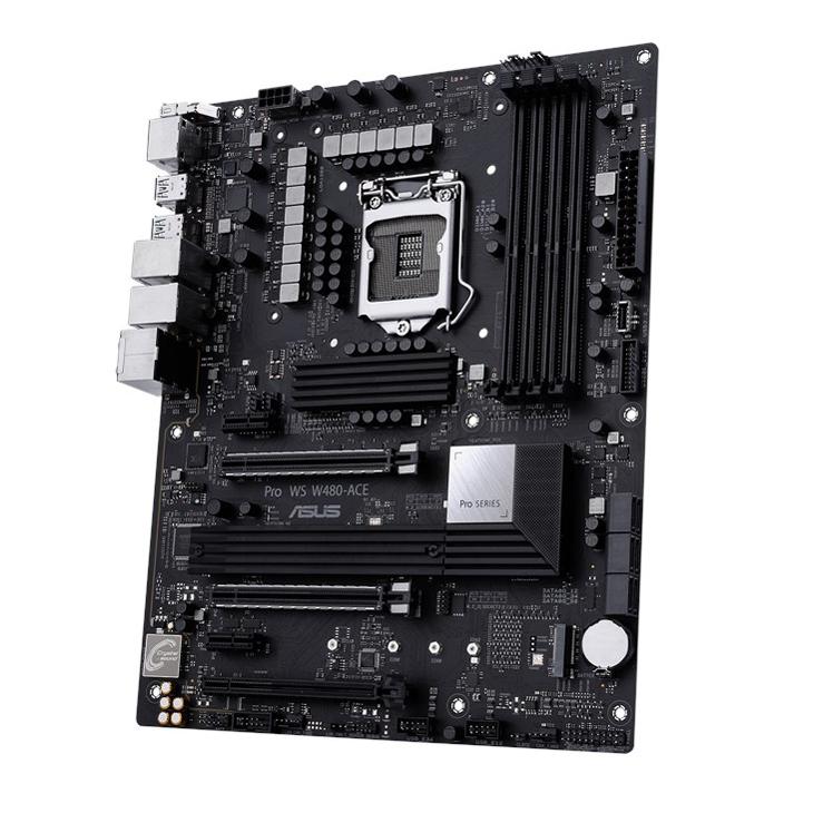 新製品 ASUS Pro WS W480-ACE ワークステーション向け Intel LGA1200 ATXマザーボード