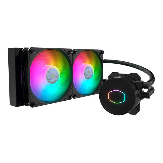 新製品 Cooler Master MasterLiquid ML240L V2 ARGB / MLW-D24M-A18PA-R2 アドレサブルRGB LED搭載一体型水冷CPUクーラー