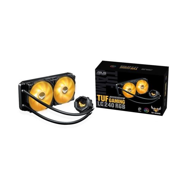 新製品 ASUS TUF Gaming LC 240 RGB オールインワン水冷CPUクーラー Aura Sync対応 TUF Gamingシリーズ
