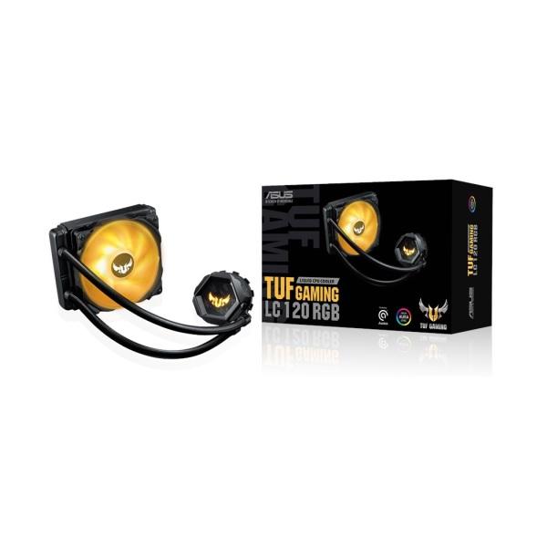新製品 ASUS TUF Gaming LC 120 RGB オールインワン水冷CPUクーラー Aura Sync対応 TUF Gamingシリーズ