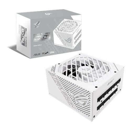 新製品 ASUS ROG STRIX 850W WHITE EDITION 850W PC電源ユニット ホワイトモデル ROG STRIXシリーズ