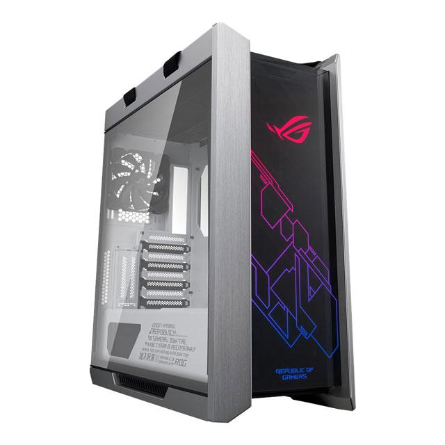 新製品 ASUS ROG Strix Helios White Edition / GX601 ATX / EATXミドルタワー ゲーミング PCケース White Edition