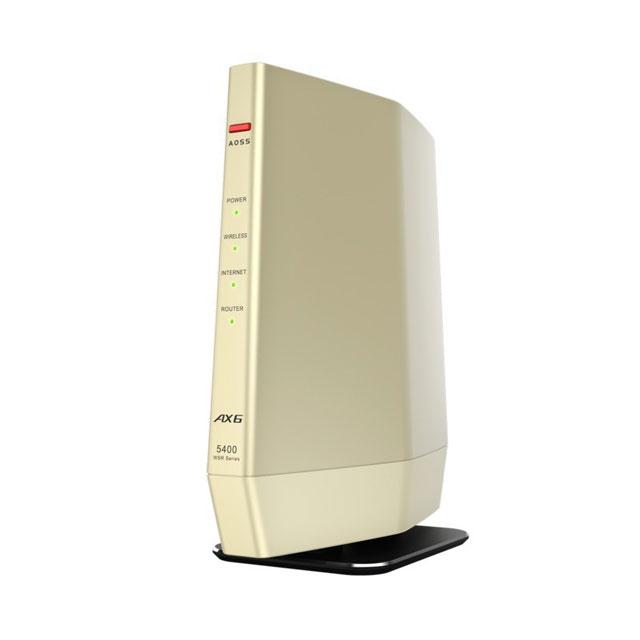 バッファロー AirStation WSR-5400AX6/DCG Wi-Fi 6対応ルーター プレミアムモデル