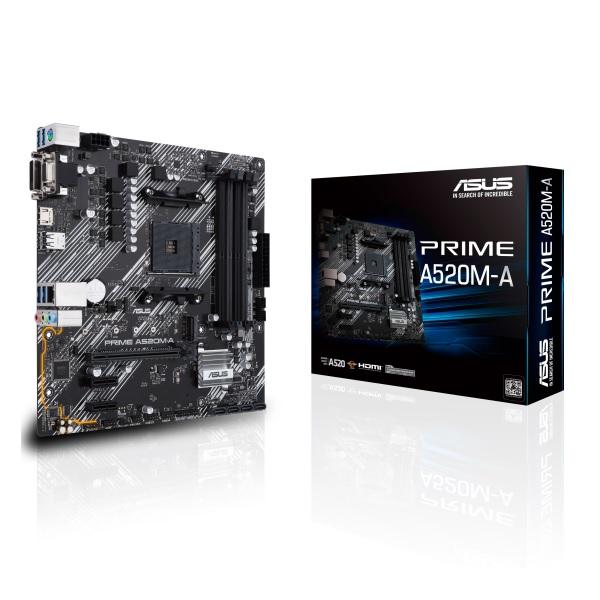 新製品 ASUS PRIME A520M-A AMD A520チップセット搭載 microATXマザーボード