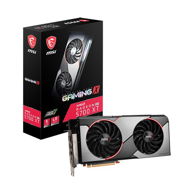 新製品 MSI Radeon RX 5700 XT GAMNG X TORXファン3.0搭載 AMD Radeon RX 5700 XT グラフィックスカード