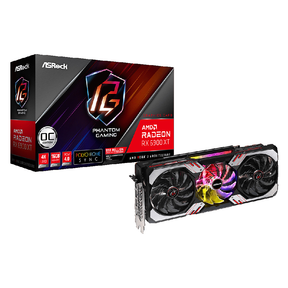 ASRock 贈答品 RX 6900 XT PG D Gaming Phantom 在庫あり 16G OC Radeon グラフィックスカード