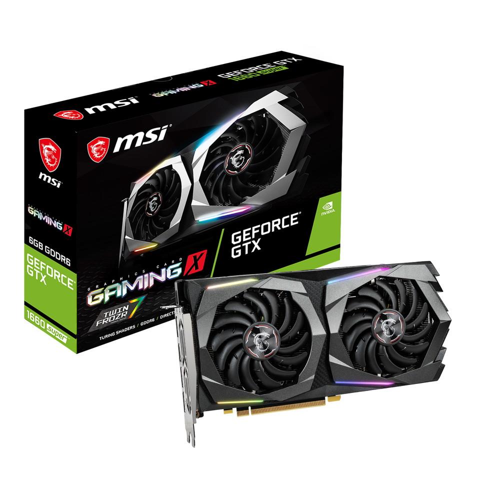 MSI GeForce GTX 1660 SUPER NVIDIA 国内即発送 品質保証 搭載グラフィックカード X GAMING