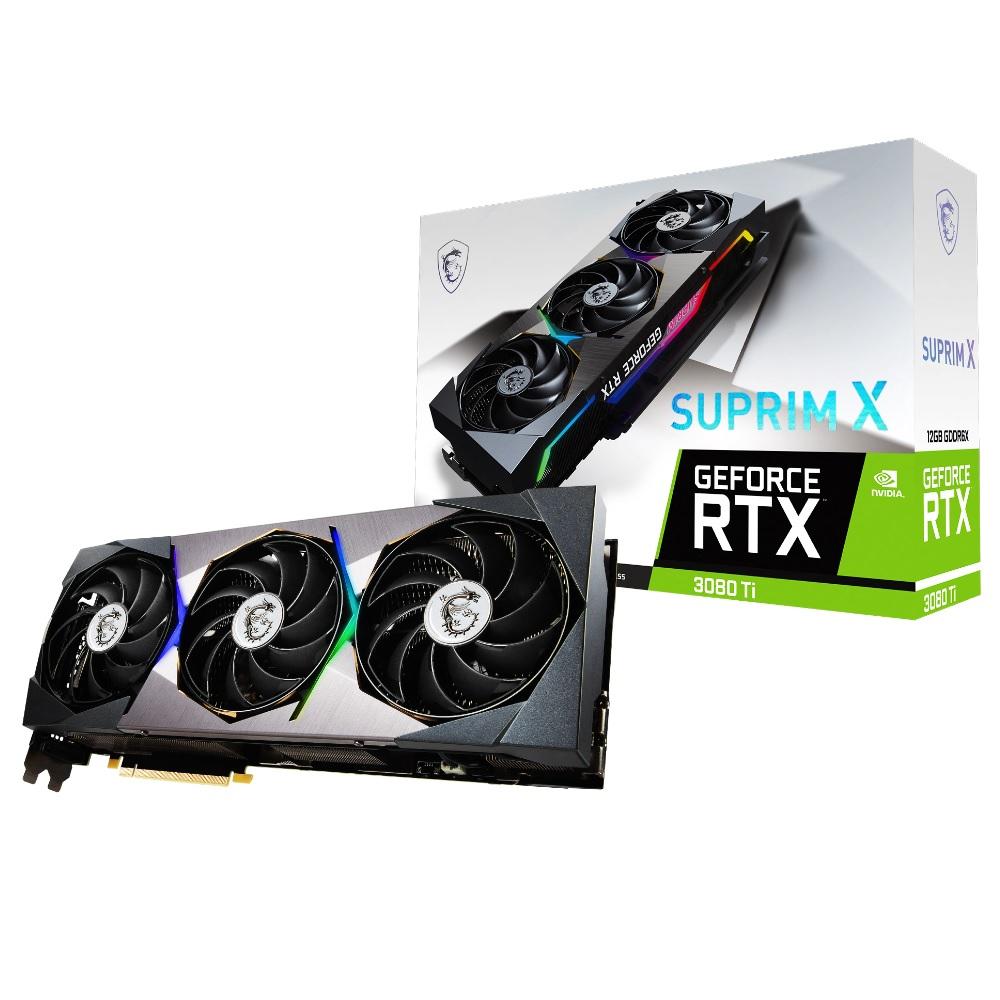 MSI GeForce RTX 格安 3080 Ti SUPRIM 12G グラフィックスカード 通販 X 搭載