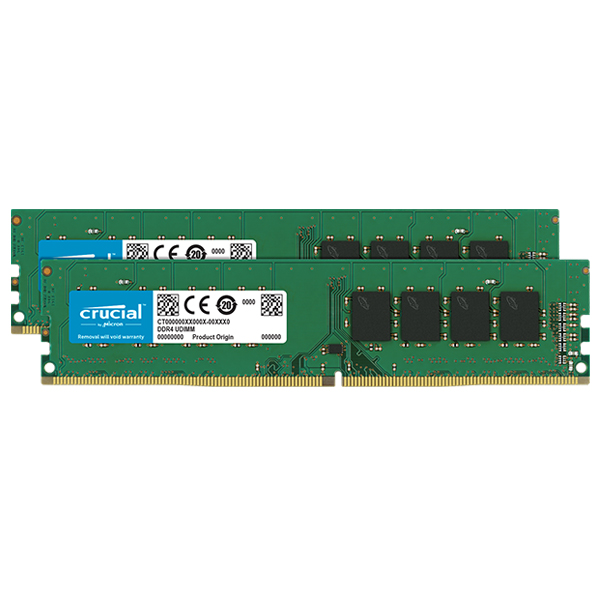 Crucial CT2K8G4DFS824A [DDR4-2400/8GB x2枚] デスクトップ用メモリ