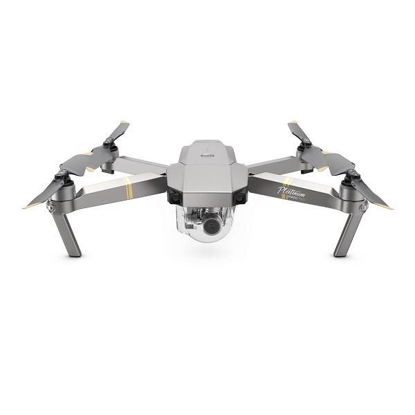 DJI Mavic Pro Platinum (JP) 飛行中のノイズを軽減させたコンパクトかつパワフルなカメラドローン