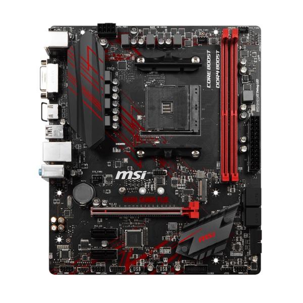 MSI B450M GAMING PLUS [MicroATX/AM4/B450] AMD B450チップセット搭載 MicroATXマザーボード ゲーミングモデル