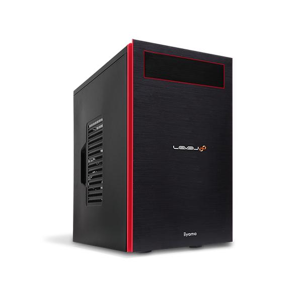 iiyama ゲーミングPC LEVEL-M0B6-i7-TN1XM モニタ別売 [Windows 10 Home/Core i7-8700/GeForce GTX 1070/16GB メモリ/480GB SSD]