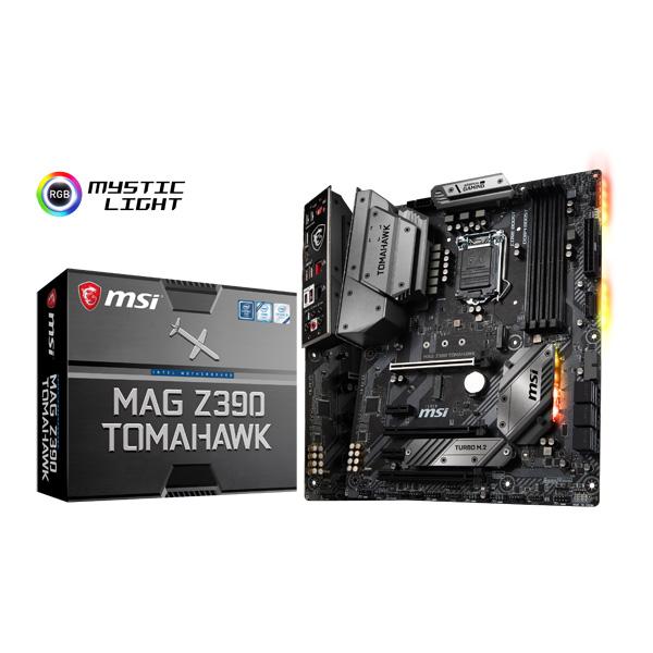 MSI MAG Z390 TOMAHAWK [ATX/LGA1151/Z390] Intel 第9世代Coreプロセッサー対応 Z390チップセット搭載マザーボード