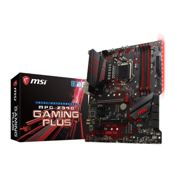 MSI MPG Z390 GAMING PLUS [ATX/LGA1151/Z390] Intel 第9世代Coreプロセッサー対応 Z390チップセット搭載マザーボード