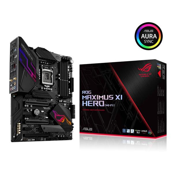 ASUS ROG MAXIMUS XI HERO (WI-FI AC) [ATX/LGA1151/Z390] Intel 第9世代Coreプロセッサー対応 Z390チップセット搭載マザーボード