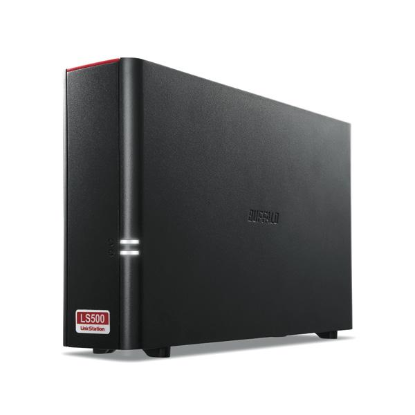 バッファロー LS510D0101G リンクステーション ネットワーク対応HDD NAS 1TB(1TB×1) デュアルコアCPU搭載