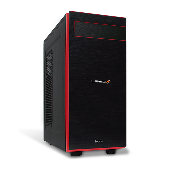 iiyama LEVEL∞ ゲーミングPC LEVEL-R039-i7K-VOSXM モニタ別売 [Core i7-9700K/GeForce RTX 2080/16GB メモリ/480GB M.2 SSD]