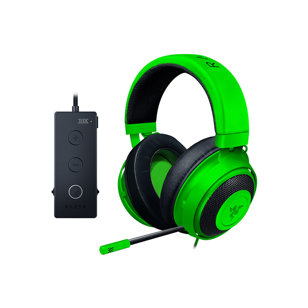 【Gaming Goods】Razer Kraken Tournament Edition Green / RZ04-02051100-R3M1 ゲーミングヘッドセット THX Spatial Audio採用