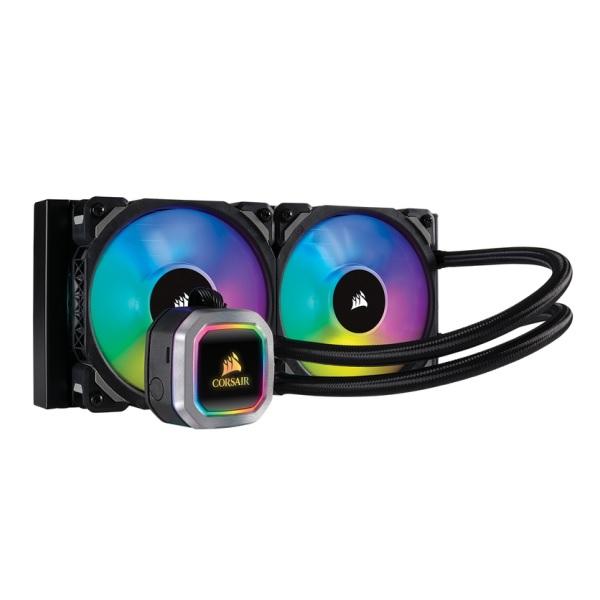 Corsair H100i RGB PLATINUM (CW-9060039-WW) 水冷CPUクーラー 240mmサイズ アドレッサブルRGB搭載