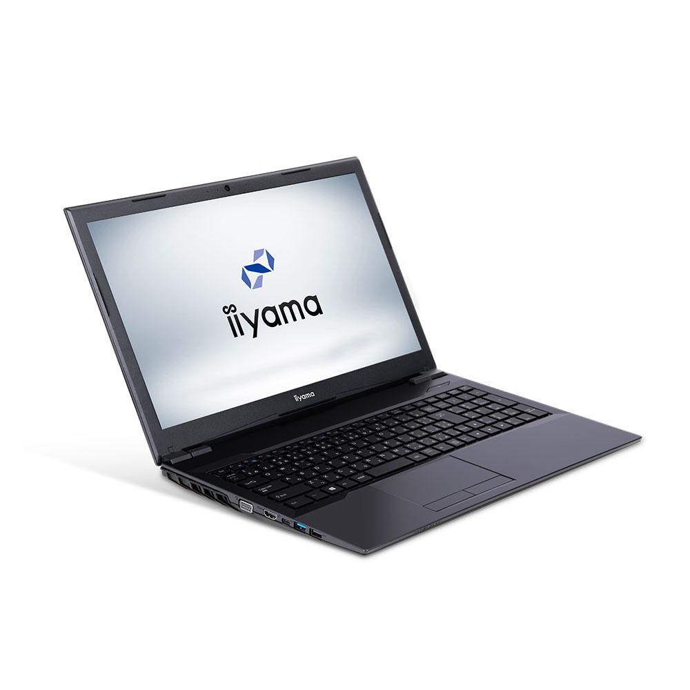 iiyama ノートPC STYLE∞ [Core i3-8100/4GBメモリ/250GB M.2 SSD/15.6インチ] STYLE-15FH039-i3-UHSXM