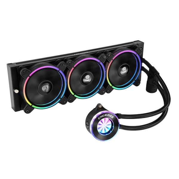 ENERMAX LIQFUSION ELC-LF360-RGB オールインワン水冷CPUクーラー フローインジケーターデザイン採用