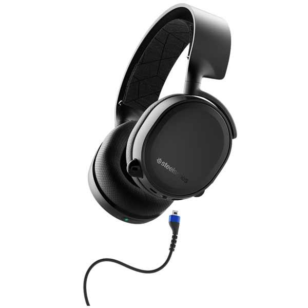 【Gaming Goods】SteelSeries 61509 /Arctis 3 Bluetooth 2019 Edition アナログ+Bluetooth同時対応ヘッドセット