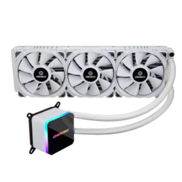 新製品 ENERMAX ELC-LTTO360-TBP-W ホワイト オールインワン水冷CPUクーラー 360mmラジエター