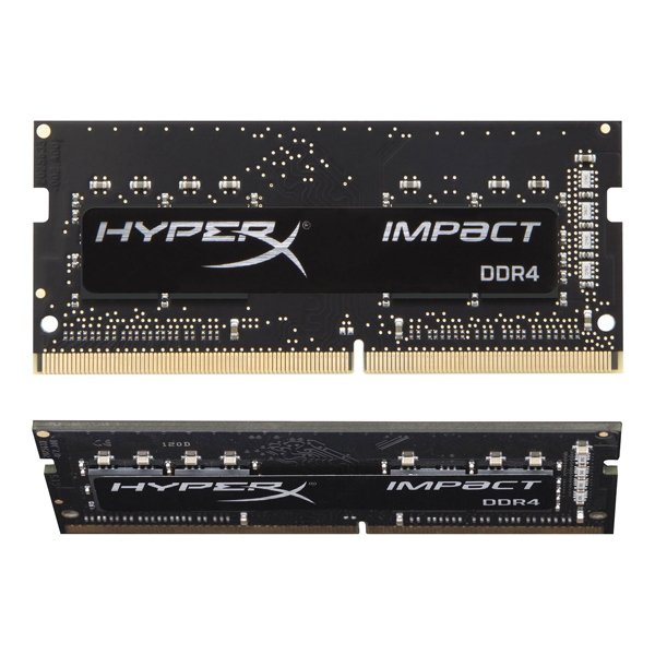 Kingston HyperX HX426S15IB2K2/16 [DDR4-2666/8GB x2枚] ノート用メモリ 260pin S.O.DIMM Impact DDR4シリーズ