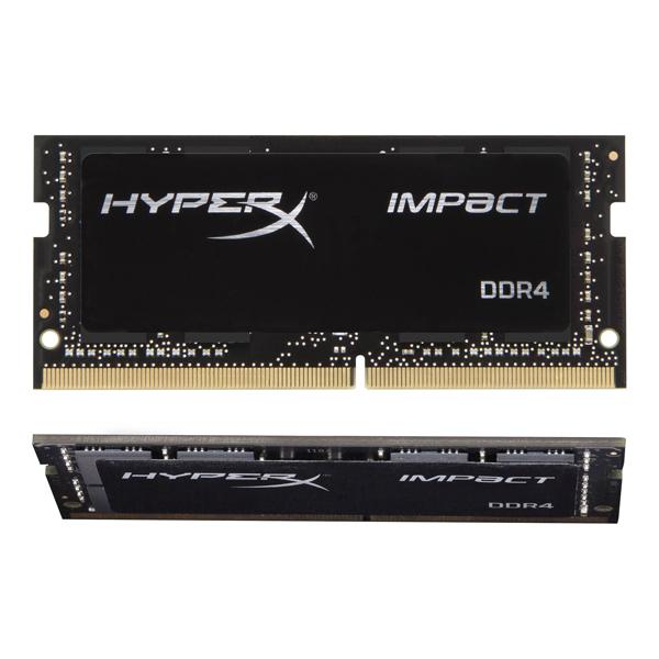Kingston HyperX HX429S17IBK2/32 [DDR4-2933/16GB x2枚] ノート用メモリ 260pin S.O.DIMM Impact DDR4シリーズ