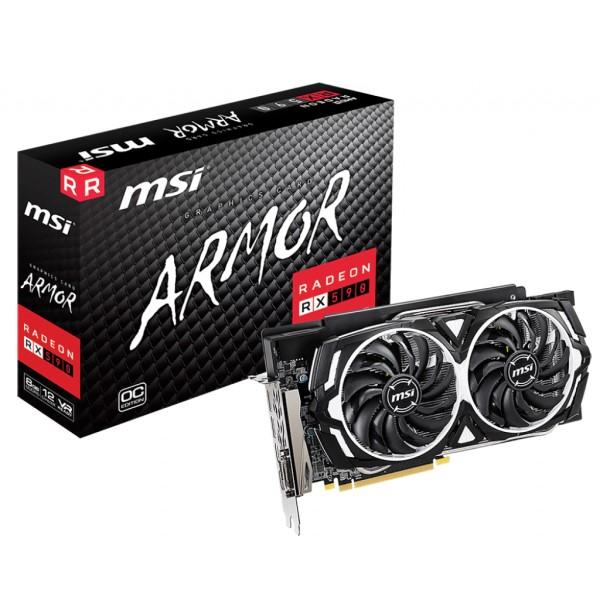 新製品 MSI Radeon RX 590 ARMOR 8G OC [RX590/GDDR5 8GB] AMD Radeon RX 590搭載グラフィックボード