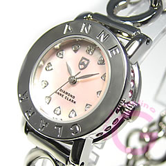 ANNE CLARK アンクラーク AN-1021-17/AN1021-17 ブレスタイプ マザーオブパール ダイヤモンド シルバー レディース 腕時計 【あす楽対応】
