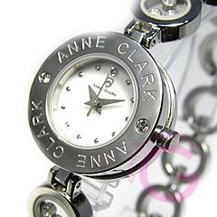 ANNE CLARK アンクラーク AT-1008-09/AT1008-09 ブレスタイプ ダイヤモンド シルバー レディース 腕時計