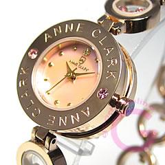 ANNE CLARK(安克拉克)AT-1008-17PG/AT1008-17PG呼吸型钻石粉红色黄金女士表手表